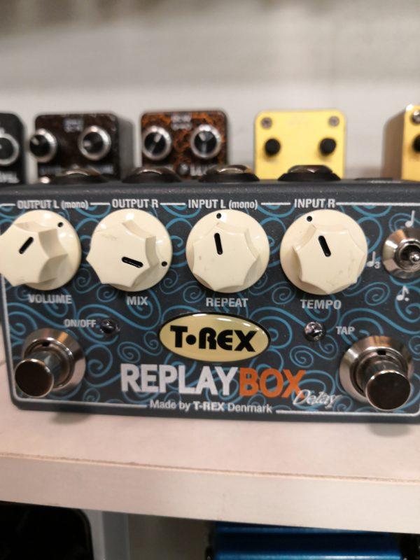 T-REX Replay Box stereo delay - pro kytaru