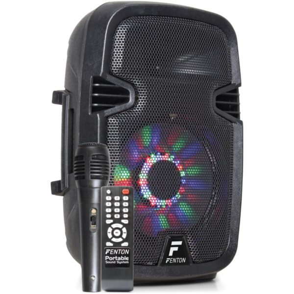 Fenton FT-8A LED reprobox aktivní/USB/SD/MP3-150W