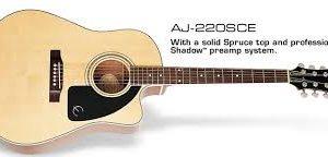 Epiphone AJ-220SCE NA el.akustická kytara