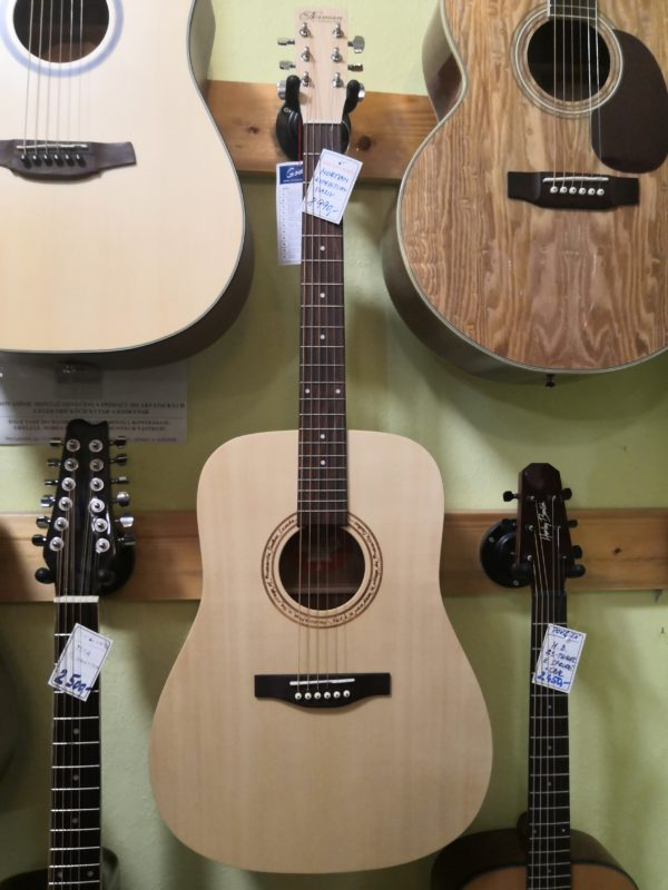 NORMAN Expedition Natural Solid Spruce SG Dreadnou
