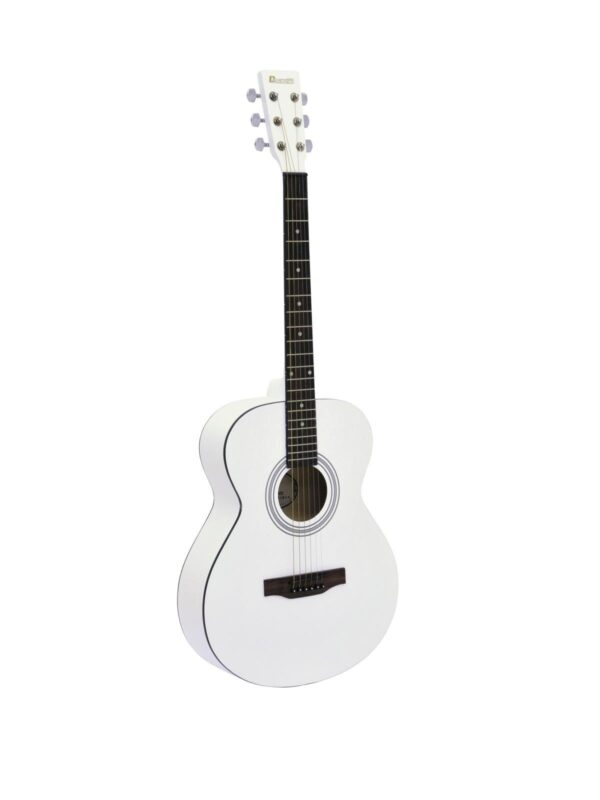 Dimavery AW-303 White westernová kytara