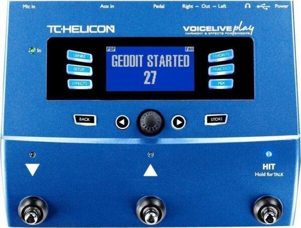 TC-Helicon VoiceLive Play vokální harmonizer