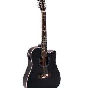 Dimavery DR-612 12-strunná kytara el.-akustická