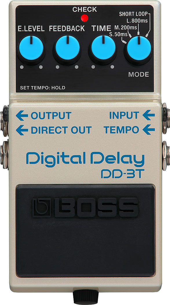 Boss DD-3T Digital Delay-Short Loop+Tap tempo
