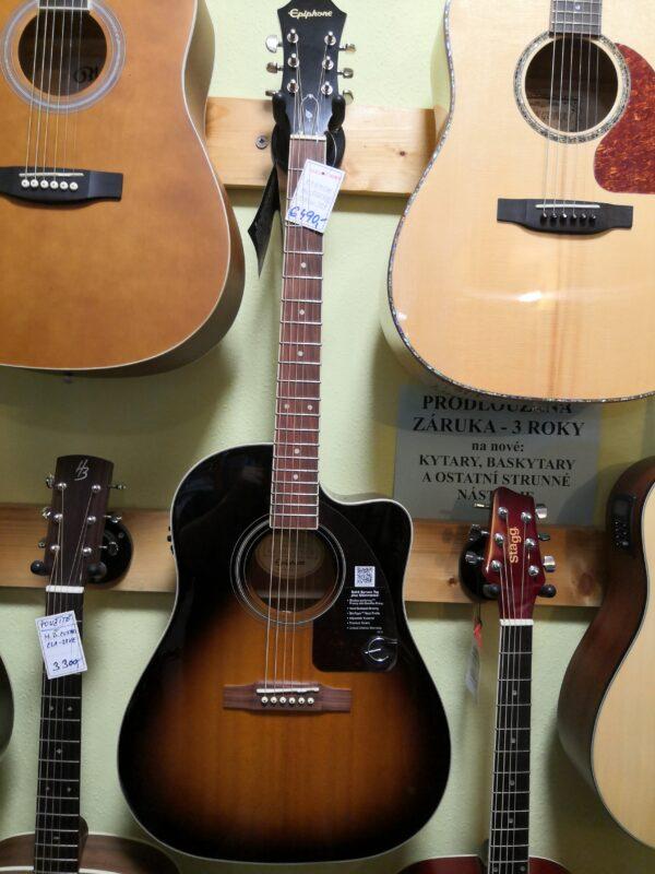 Epiphone AJ-220SCE VS el.akustická kytara
