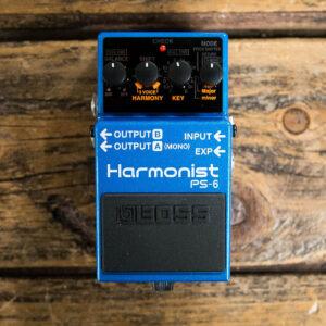 BOSS PS-6 Harmonist kytarový efekt