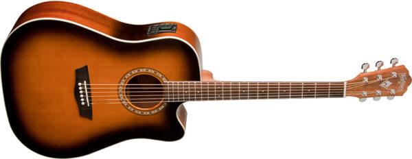 Washburn WD7SCE ATBM-A el.akustická kytara Dreadno