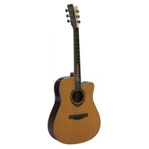 Gilmour WOODY EQ CUT Dreadnought el.ak.kytara