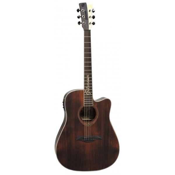 Gilmour ANTIQUE CEQ dreadnought kytara