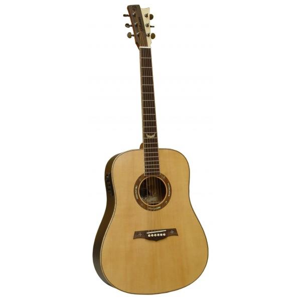 Gilmour Velvet EQ dreadnought kytara