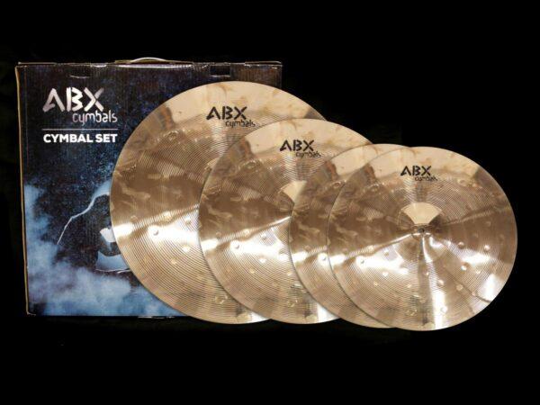 ABX CS-Bronze SET 14/16/20 sada činelů Bronze