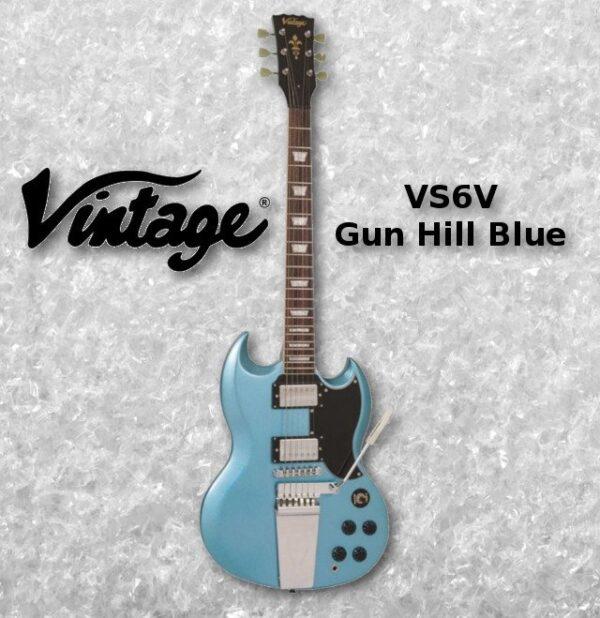 VINTAGE VS6VGHB elektrická kytara SG