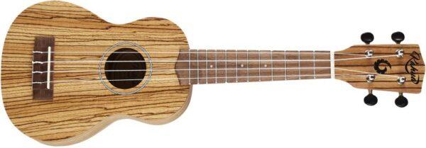 KAHUA KA-21Z sopránové ukulele-Zebrano
