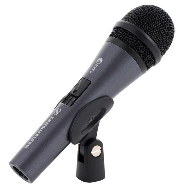 Sennheiser E 835-S dynamický  mikrofon s vypínačem