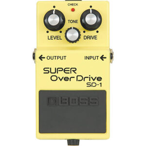 Boss SD-1 Super OverDrive kytarový efekt