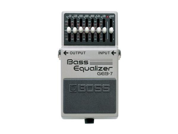 BOSS GEB-7 ekvalizer pro baskytaru