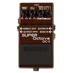 Boss OC-3 Super Octave oktaver/boost kytara/basa