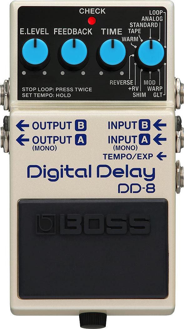 Boss DD-8 Digital Delay efekt pro el.kytaru