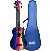 Flight TUS EE SUNSET sopránové ukulele + obal