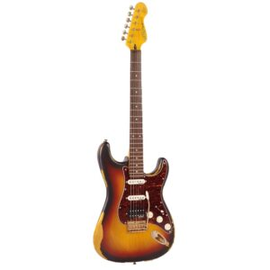 VINTAGE V6HMRSB Stratocaster Vintage 3SC