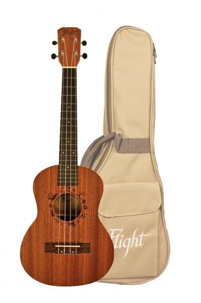 Flight NUT310 tenorové ukulele + obal